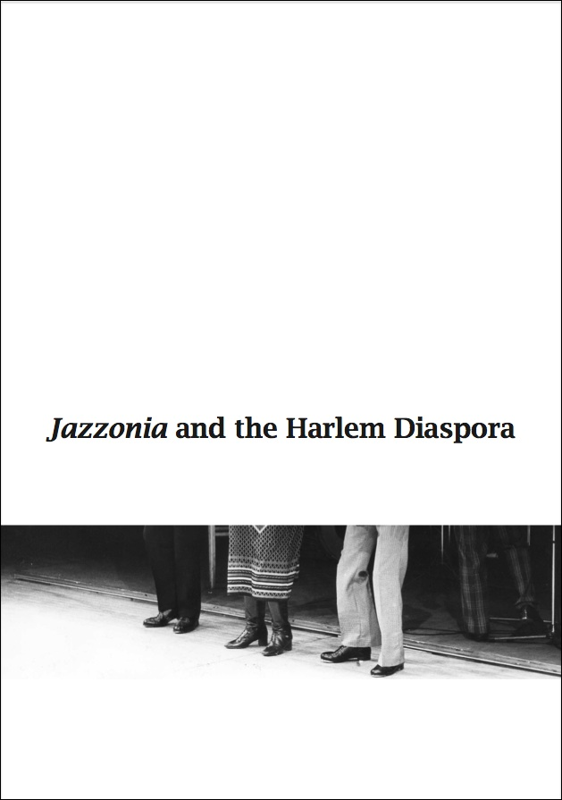 Cover of Jazzonia catalogue