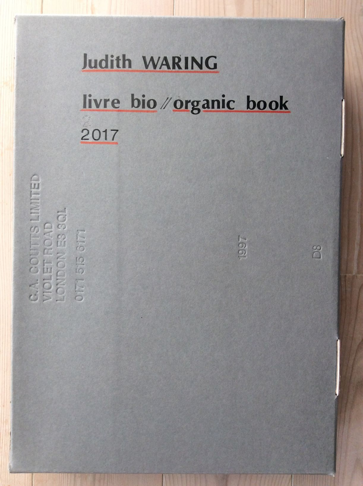 Livre Bio exhibited in Marseille