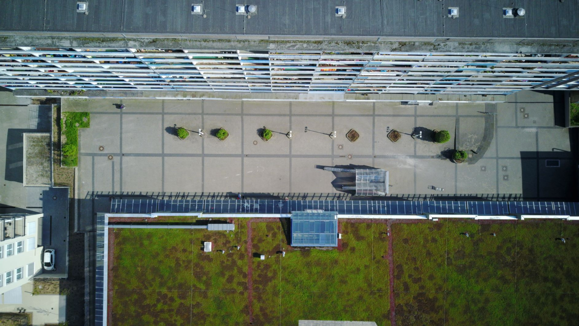 The Popo aerial view, Jena-Lobeda, Germany